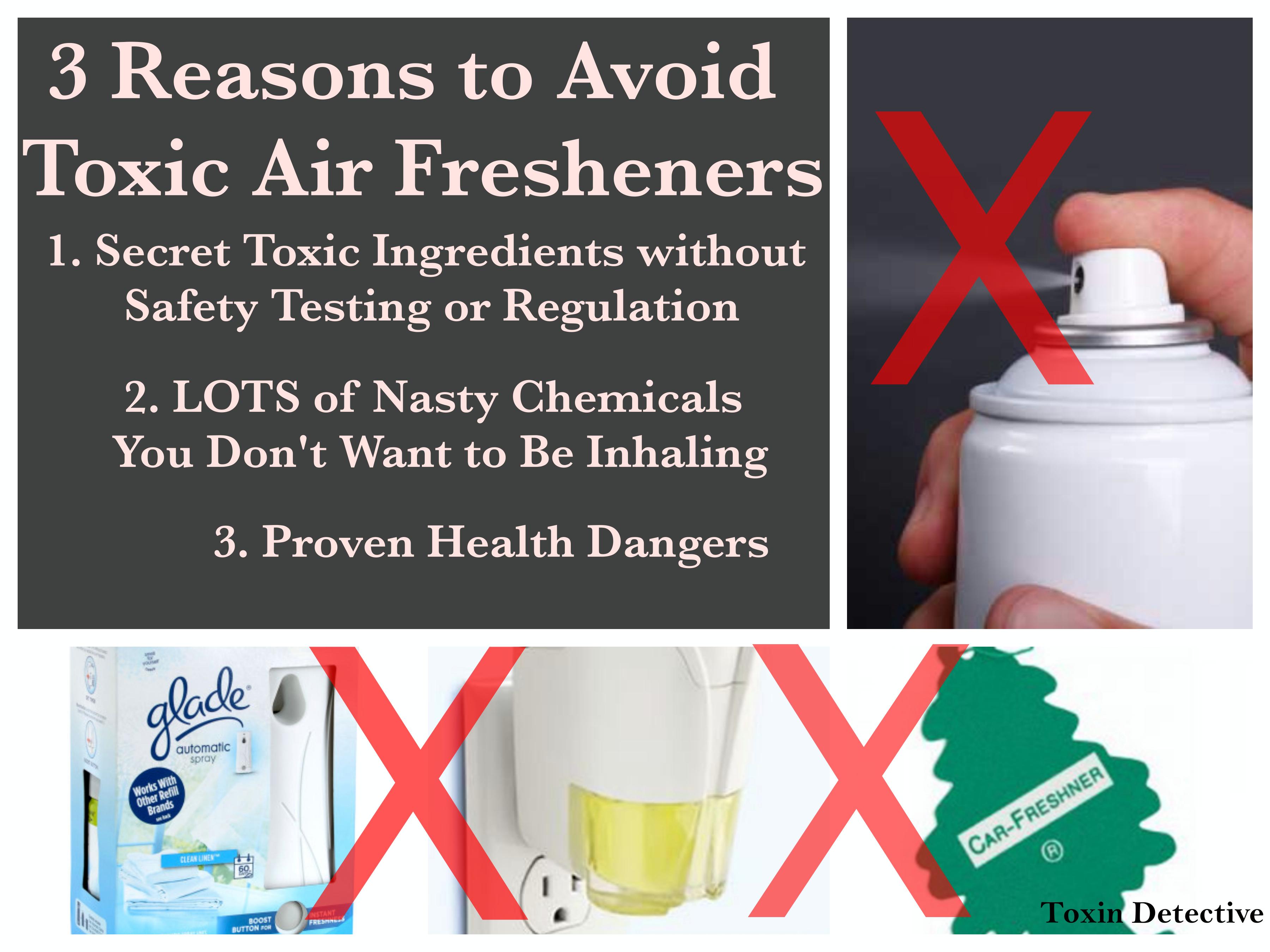 Toxic clipart air freshener To Fresheners Avoid Reasons 3