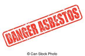 Toxic clipart asbestos Vector stamp; grunge asbestos of