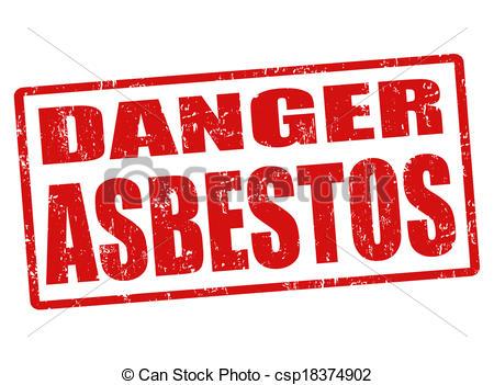 Toxic clipart asbestos Asbestos stamp grunge Danger csp18374902