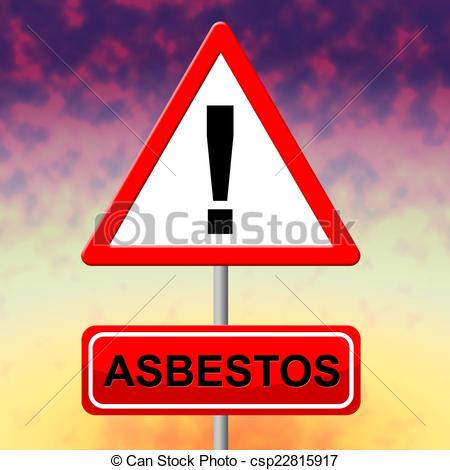 Toxic clipart asbestos Of Showing  Hazmat Alert