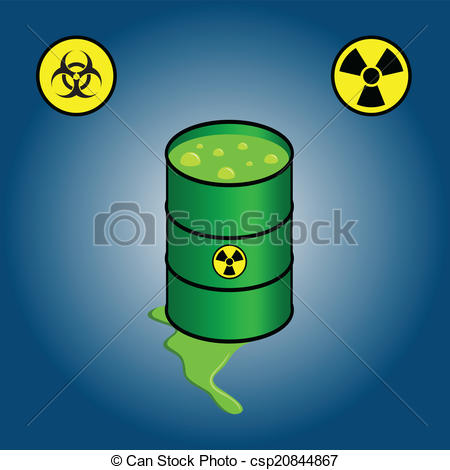 Can clipart toxic Of biohazard leaking csp20844867 icons