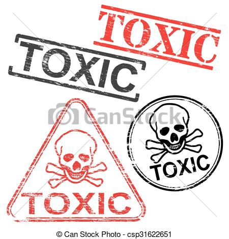 Toxic clipart can Of bones Clipart Stamps Rubber