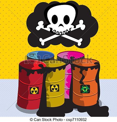 Toxic clipart can Toxic Illustration vector Cartoon csp7110932