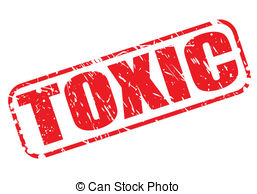 Toxic clipart can Of with text rubber Waste