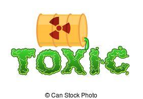 Toxic clipart danger  font toxic green Danger