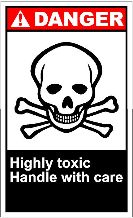 Toxic clipart danger SAi Clip Art SAi Danger