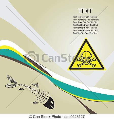 Toxic clipart danger Background Clip EPS Toxic Danger