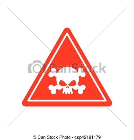 Toxic clipart danger Toxic Attention pollution red acid