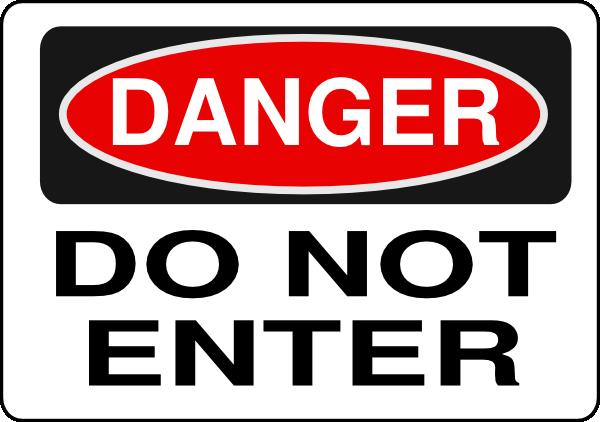 Toxic clipart danger zone Online Sign  vector Download
