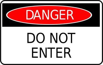 Toxic clipart danger zone Danger Danger Clipart cliparts Zone