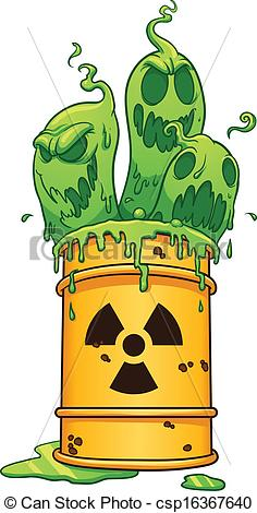 Can clipart toxic Barrel clip Vector  EPS