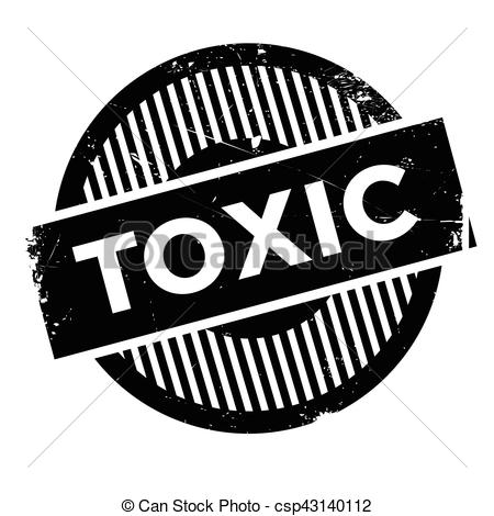 Toxic clipart emblem Design dust of Vector Toxic