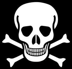 Toxic clipart health hazard And in cartoon Crossbones RelationshipsClip