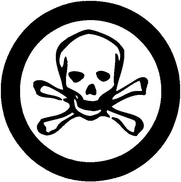 Toxic clipart health hazard Symbols  Hazard