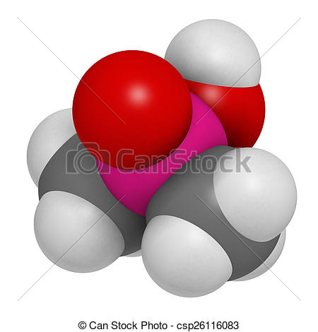 Toxic clipart herbicide As are Illustration molecule with