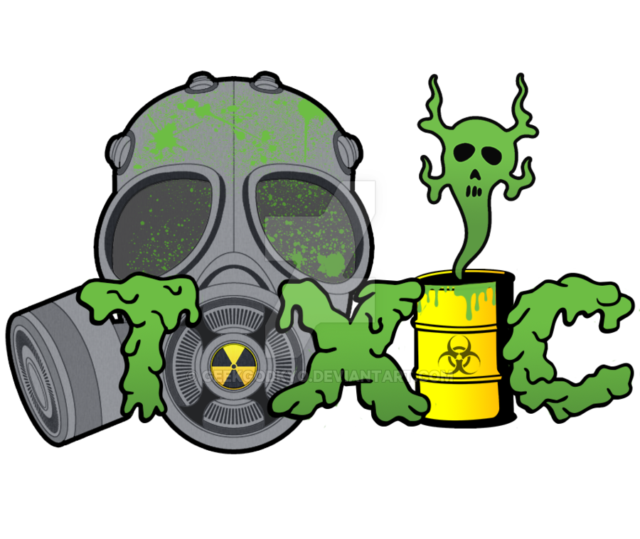Toxic clipart logo Logo on logo GeekGodKyo by
