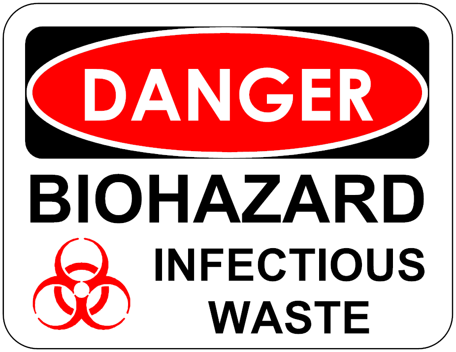 Toxic clipart medical waste Of Common Types of Most