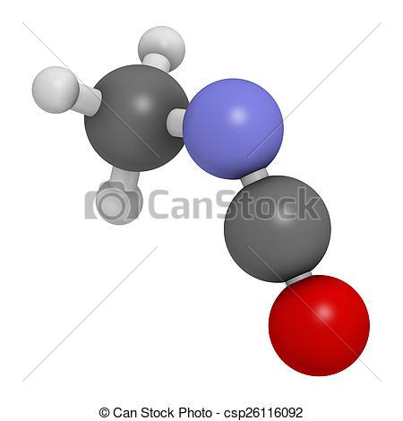 Toxic clipart responsible Methyl deaths Illustration as Methyl