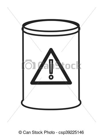 Toxic clipart simple  Vector icon flat icon