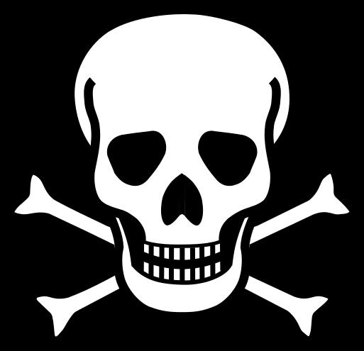 Toxic clipart skull and crossbones File:Skull Wikipedia File:Skull & crossbones