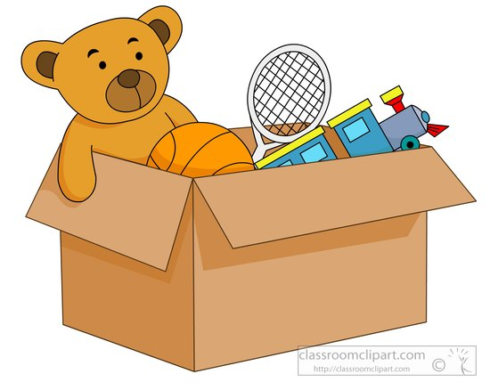 Toy clipart 55 with box toys Clip