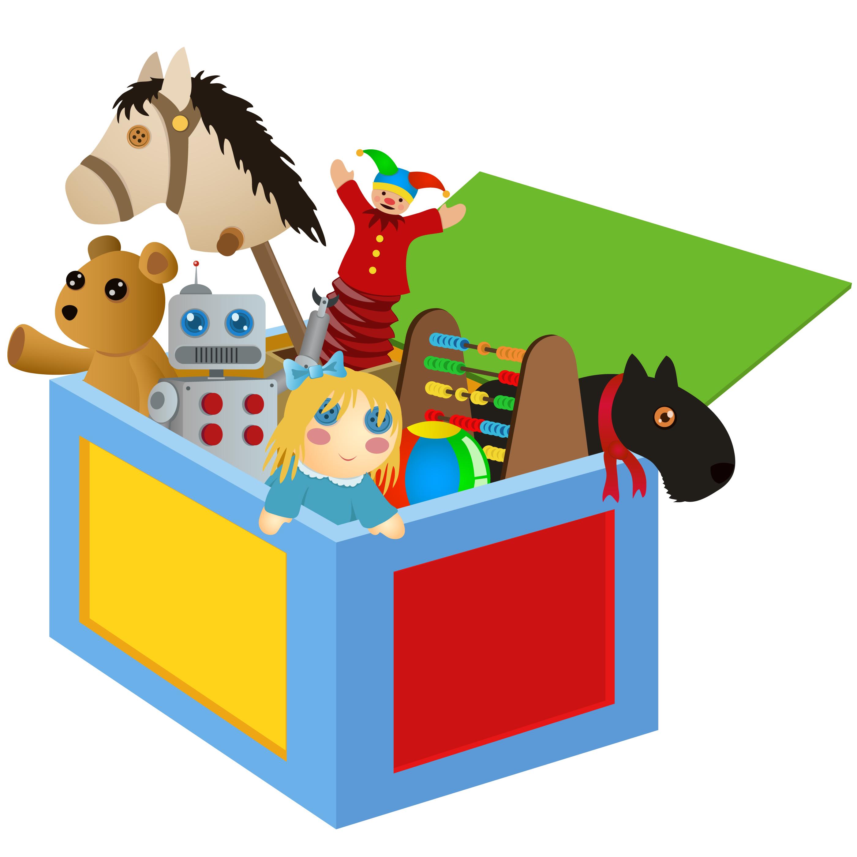 Toy clipart Savoronmorehead clipart toys Toys away