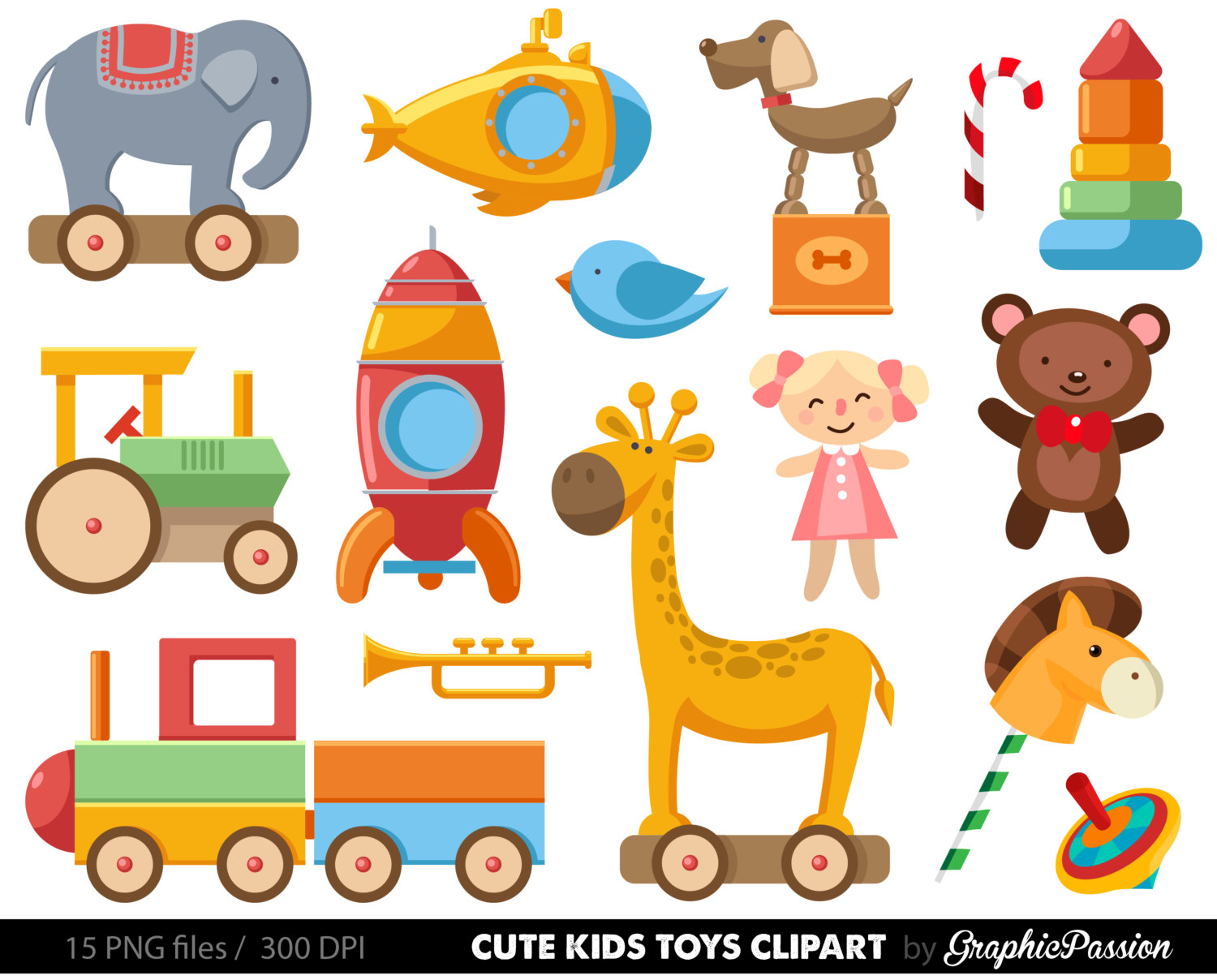 Baby clipart baby toy Clip illustration Baby Clipart cars