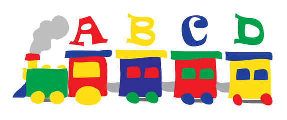 Toy clipart abcd #9