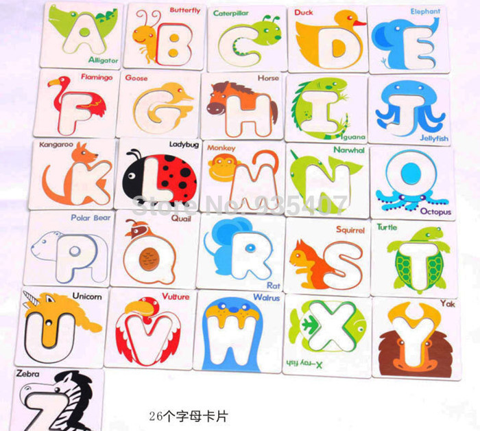 Toy clipart abcd #7