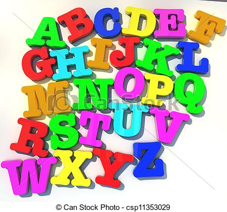 Toy clipart abcd #11