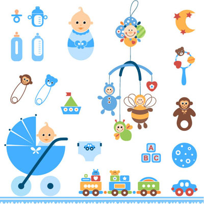 Baby clipart baby toy Clip Icon Free  Cartoon