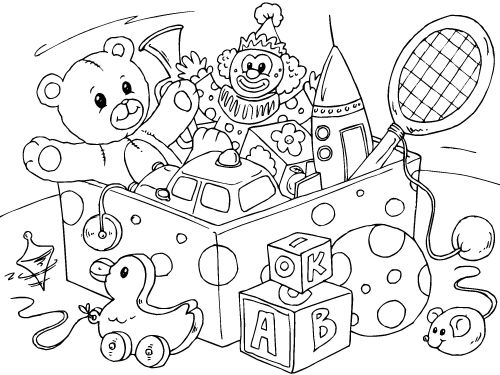Toy clipart color #6