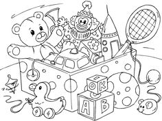 Toy clipart color #7