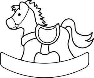 Toy clipart outline #13