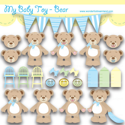 Toy clipart printable #13