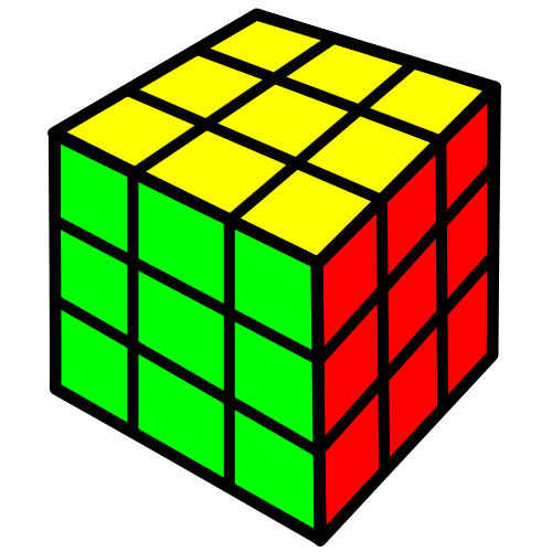 Toy clipart rubik's cube #2