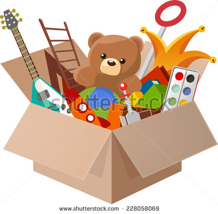 Toy clipart toy box #2