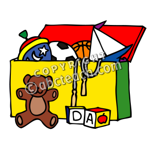 Toy clipart toy box #3