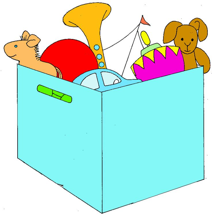 Toy clipart toy box #6