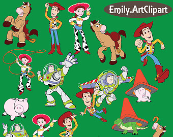Toy Story clipart Toy Story Party Art Printable