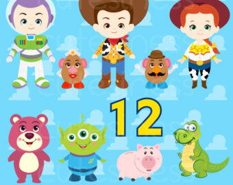 Toy Story clipart Clip Clipart Toy Toy Little