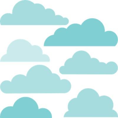 Clouds clipart cloud shape Cloud Cloud ideas TemplateToy StorySilhouette