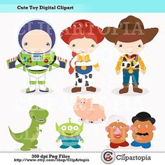 Toy Story clipart digital Clipart ohh 00 $5 Minus
