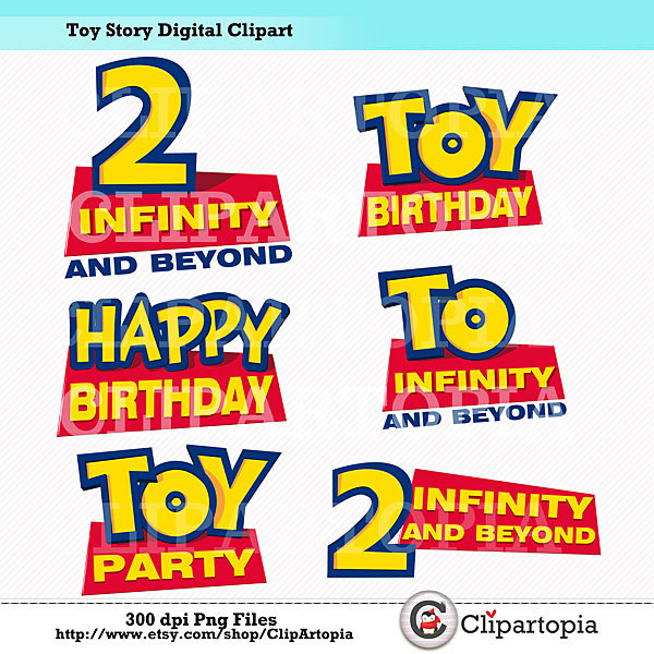 Toy Story clipart digital OFF Story Toy Party Story