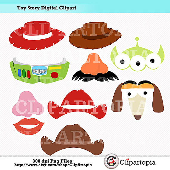 Toy Story clipart digital T Printables Party / Clipart