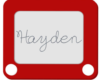 Toy Story clipart etch a sketch Etch Etsy Shirt Toy Personalized