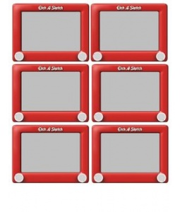 Toy Story clipart etch a sketch A  Labels a a