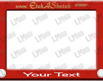 Toy Story clipart etch a sketch Toy Etch Customise sketch Sketch