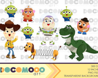 Toy Story clipart frame Art story Clipart Toy Digital
