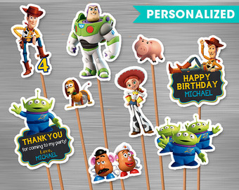 Toy Story clipart frame Toy Story Small Toy Print